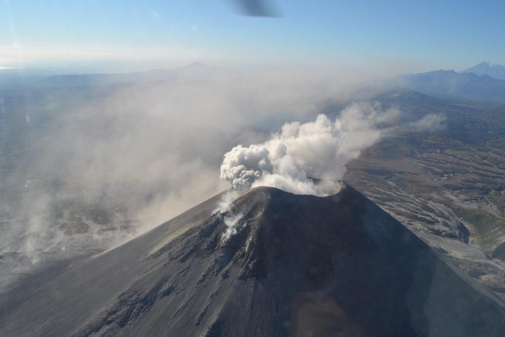 карымский вулкан 3